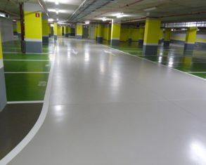 Reparación de pavimento de garajes en Madrid